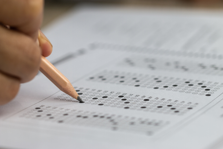 Test-exam
